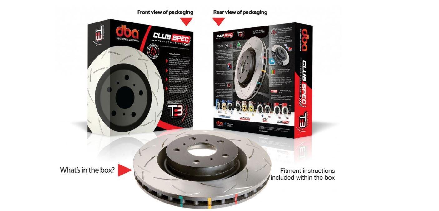 DBA Club Spec T3 Rotors   Sparesbox