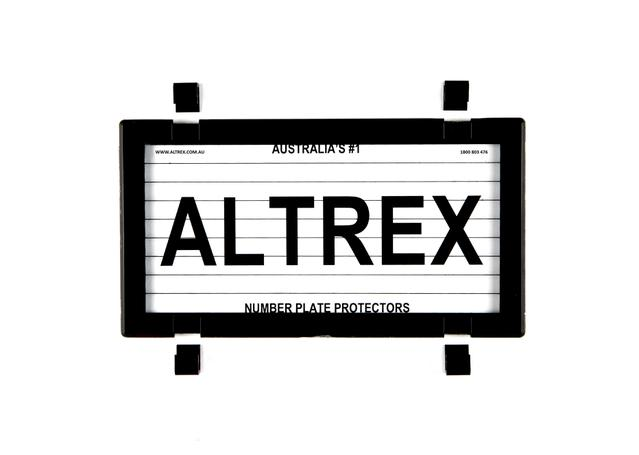Which Altrex Number Plate Cover is right for your vehicle?